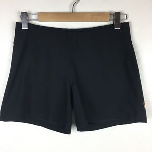 Lucy black shorts hot yoga workout run small